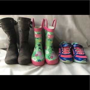 Other - Lot of Girls Shoes Size 5 - Boots, Sneakers